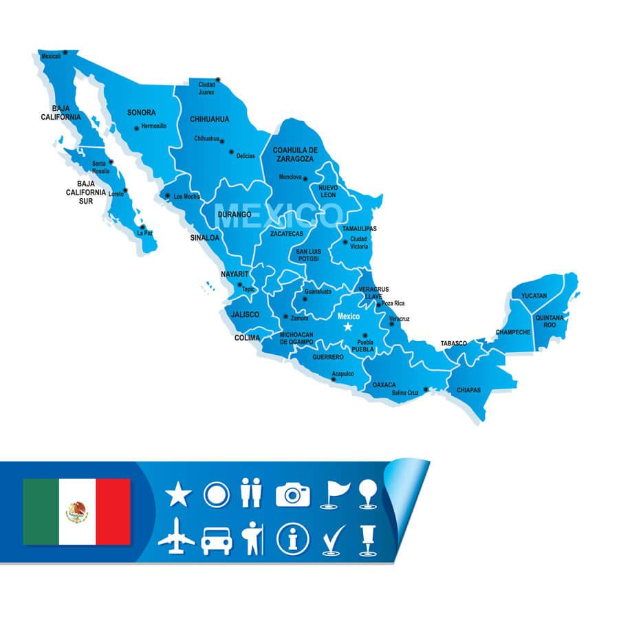 Definición De México Concepto En Definición ABC - Mapa de mexico