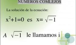 Definición de Números Complejos
