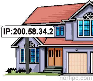 La dirección IP identifica nuestro ordenador con la casa o lugar en el que nuestro pc este ubicado.