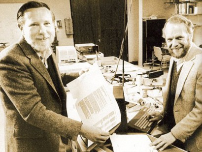 John Warnok y Charles Gecshke, fundadores de la compañía Adobe