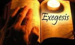 Definición de Exégesis