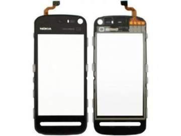 Pantalla táctil típica de un móvil, son independientes de la pantalla gráfica o lcd que es donde se muestra la información.