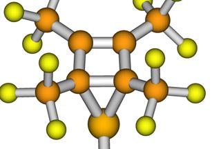 Concepto de enlace quimico
