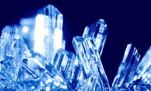 valor del cristal