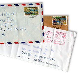 Definici n de correspondencia concepto en definici n abc for Correo postal mas cercano