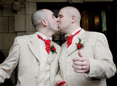 El matrimonio homosexual es inconstitucional
