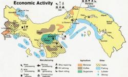 Definición de Mapa económico