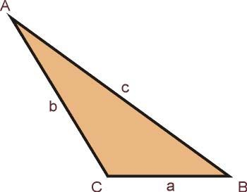 Resultado de imagem para imagem de triangulo irregular