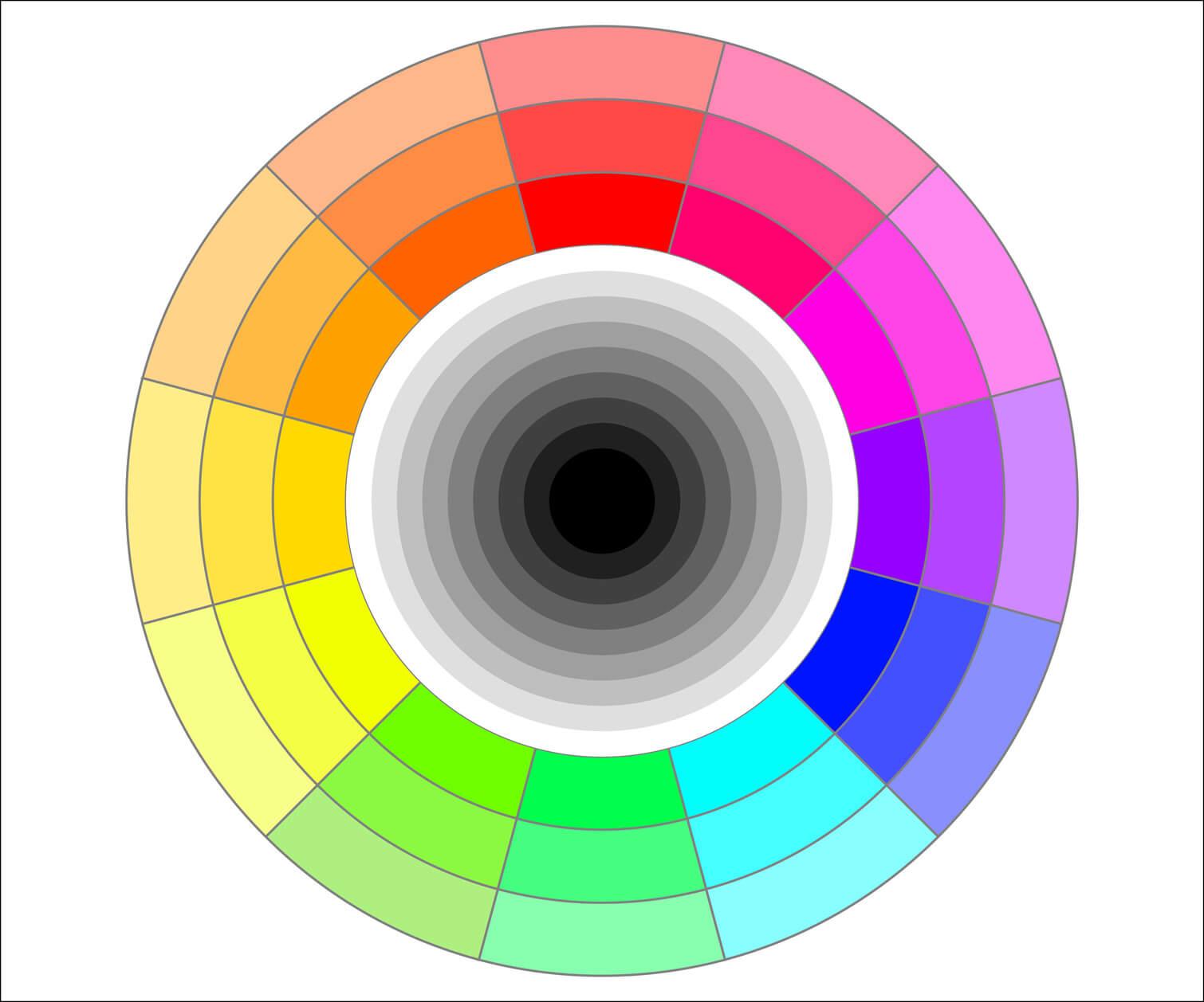 Colores fr os y c lidos definici n concepto y qu es - Gama colores frios ...