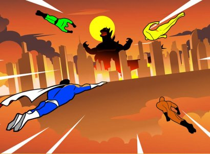 Marvel-DC-superheroes