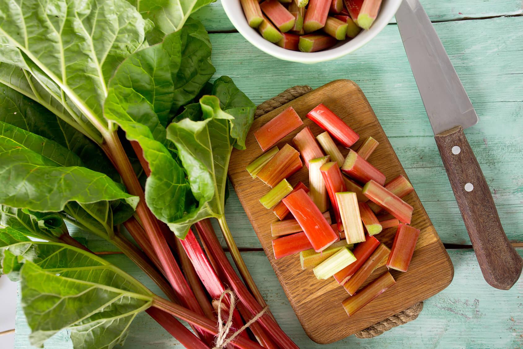 El ruibarbo - recetas y beneficios