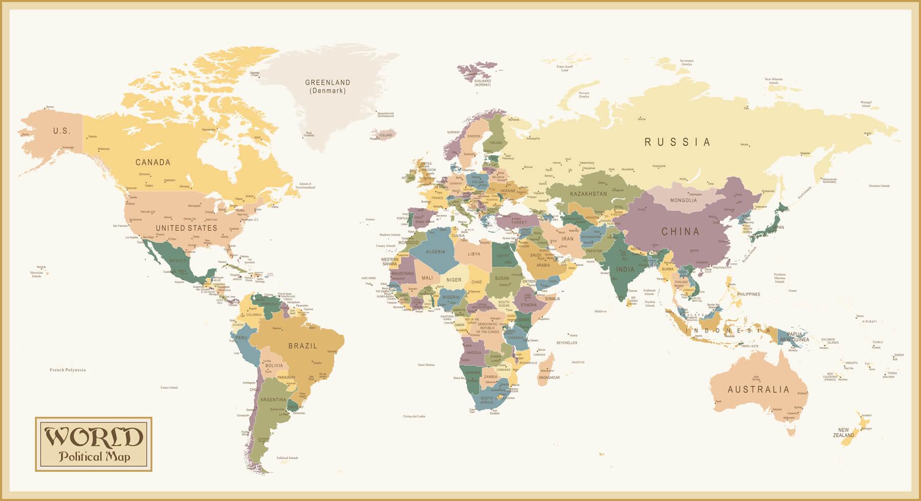 Definici n de mapa mundi concepto en definici n abc for Mapa del mundo decoracion