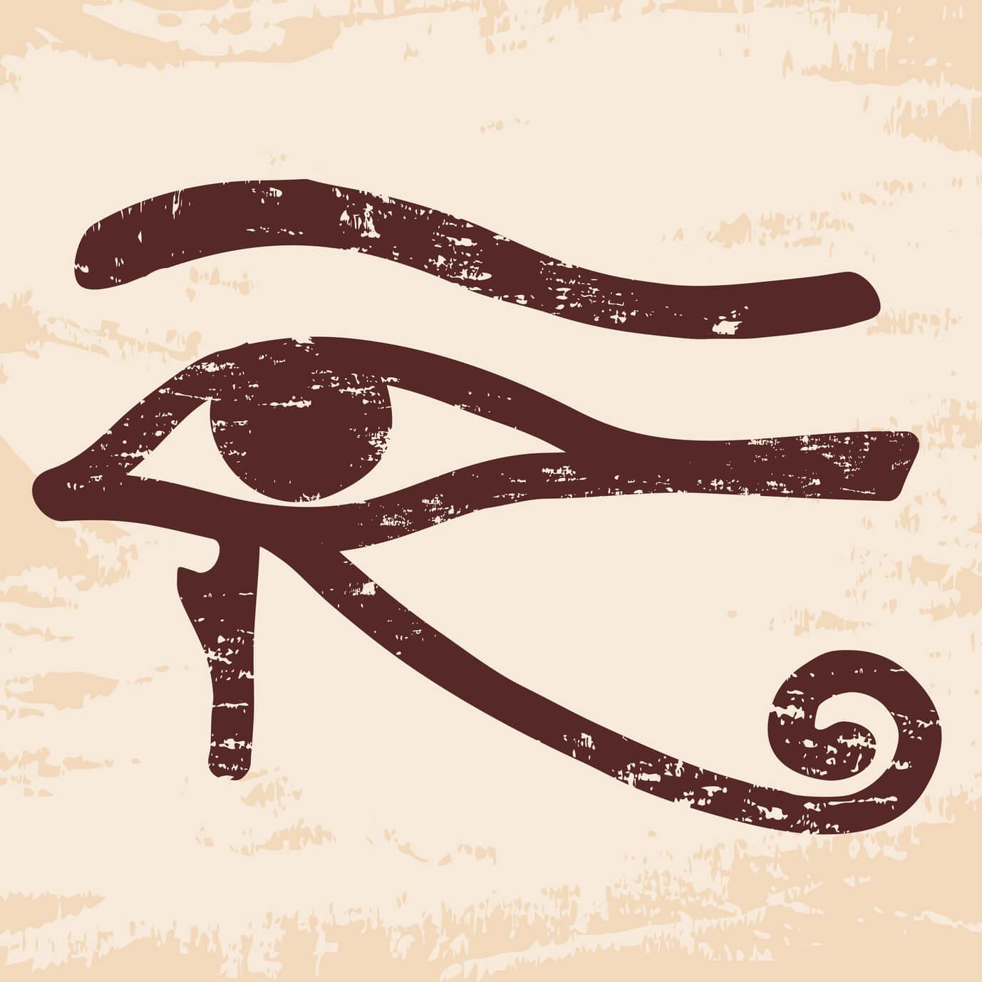 Resultado de imagen de ojo de horus izquierdo