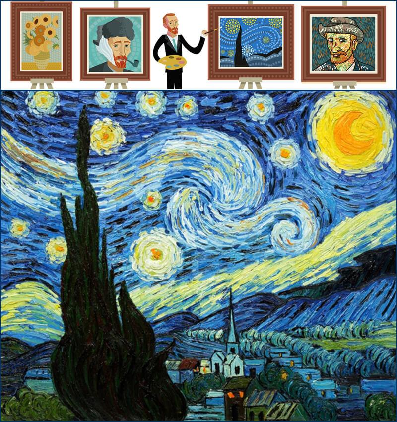 Qué Es La Noche Estrellada Pintura Definición Y Concepto