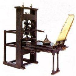 gutenberg imprenta: