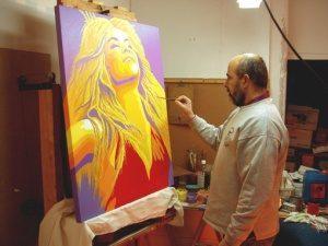 Definición de Pintura