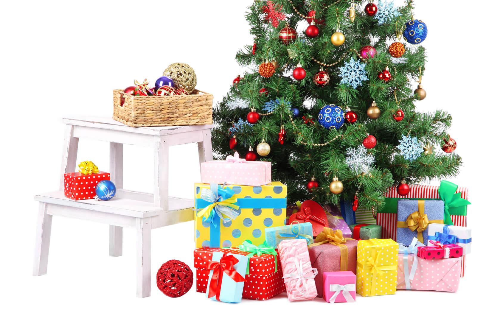 Definici n de rbol de navidad concepto en definici n abc - Arbol de navidad hecho de luces ...
