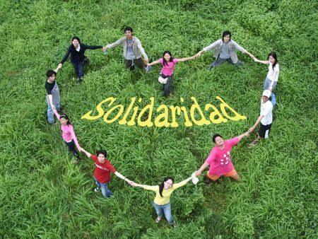 instancias de la Sociología, el término solidaridad goza de una